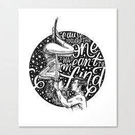 Rewrite The Stars Canvas Print
