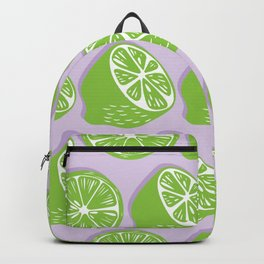 Lime pattern 06 Backpack