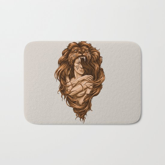 Lion Queen Bath Mat