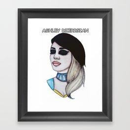 Miss Ashley Dzerigian Framed Art Print