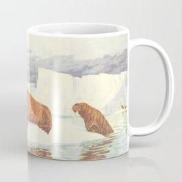 Vintage Illustration of Walruses (1917) Coffee Mug