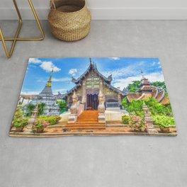 Chiang Mai Temple Rug