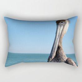 Pelican Stare Rectangular Pillow