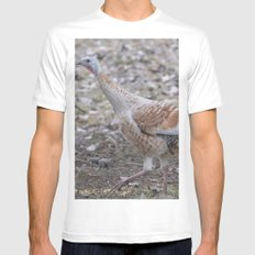 A Different Sort of Turkey MEDIUM Mens Fitted Tee White
