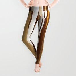 Golden Wood Grain Leggings