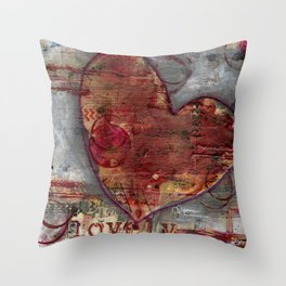 Permission Series: Lovely Throw Pillow