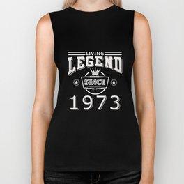 Living Legend Since 1973 T-Shirt Biker Tank