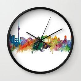 Berlin Skyline Wall Clock