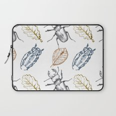 Bugs and leaves Laptop Sleeve