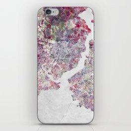 Istanbul Map iPhone Skin