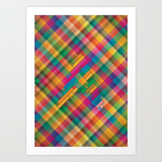 The Alphabet #1 Art Print