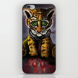 Sad Baby Tiger iPhone Skin