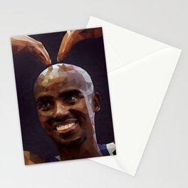 London 2012 Olympian Mo Farah Stationery Cards