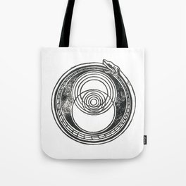 Space-Time Atom Tote Bag