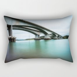 Under the Bridge Rectangular Pillow