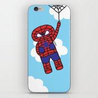 superheros iPhone & iPod Skins featuring Superheros by oekie
