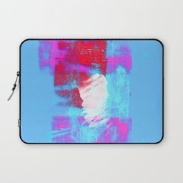 abstract blue pink Laptop Sleeve