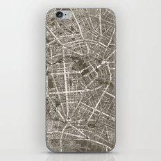 Berlin Map iPhone & iPod Skin