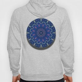 Pattern and Blues Hoody