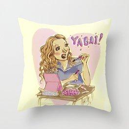 Yabai! Throw Pillow