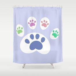 Zampette Shower Curtain