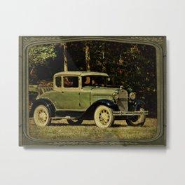 1931 Rumble Seat Classic Metal Print