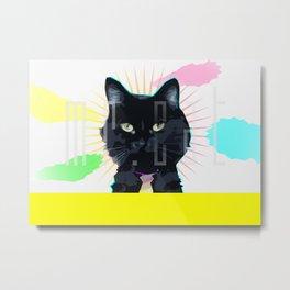 Mr. Cat Metal Print