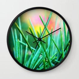 Pine/Fir Tree Wall Clock