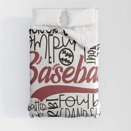 Baseball Typo Comforters