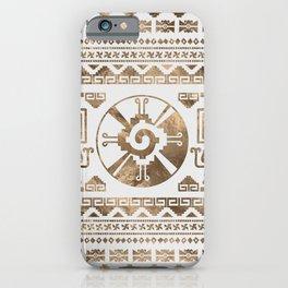Hunab Ku Pastel gold iPhone Case