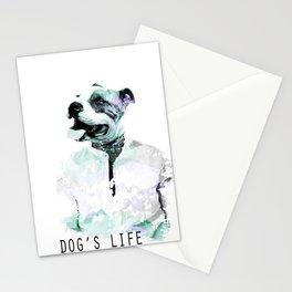 Irony: Dog's Life Stationery Cards