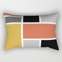 Bauhaus Abstract Pattern 05 Rectangular Pillow