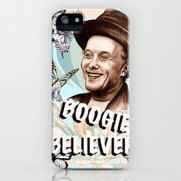 Mark Boogie Believer iPhone Case