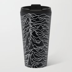Unknown Radio Waves - Unknown Pleasures Travel Mug