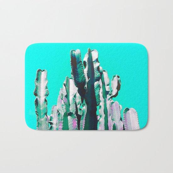 Majestic Cactus - Aqua Bath Mat