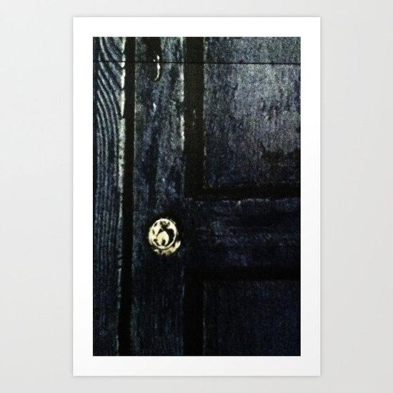 Doctor Who: Who has the Tardis key? Art Print