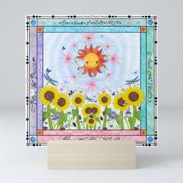 Sow Seeds of Love Mini Art Print