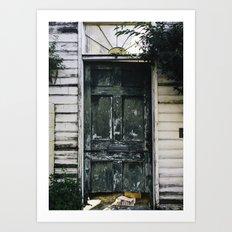 Charleston Doorstep I Art Print