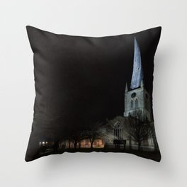 Crooked spire 2 Throw Pillow