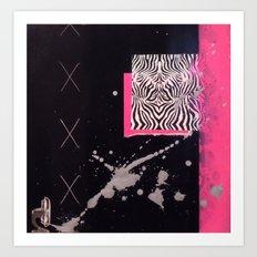 Strung Up Art Print