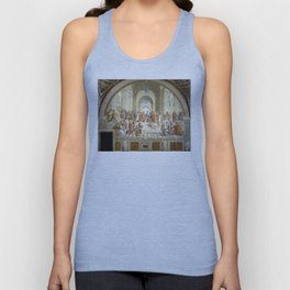 Raphael - The School of Athens Unisex Tank Top