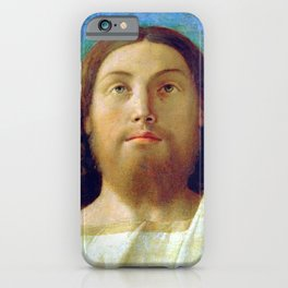 "Giovanni Bellini ""Head of the Redeemer"" iPhone Case"