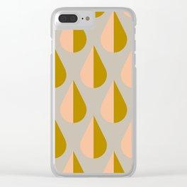 Rain_Rain Clear iPhone Case