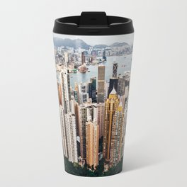 As Seen From Victoria Peak Travel Mug