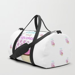 Coffee And Cupcakes Duffle Bag