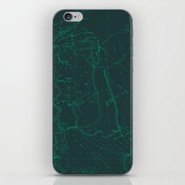 Contour Mapping v.1 iPhone Skin