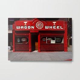 Wagon Wheel Bar, San Francisco Metal Print