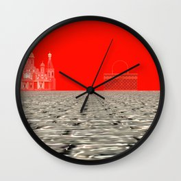 Squared: For Sell Wall Clock