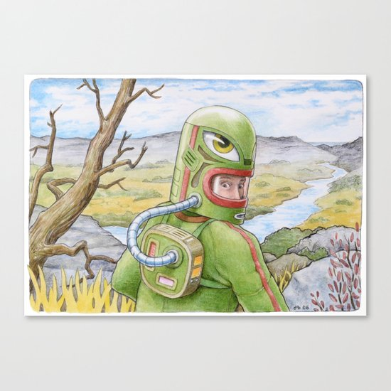 The Fissure Canvas Print