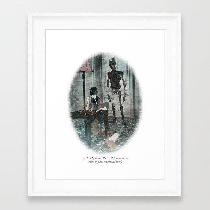 Behind You 37 Framed Art Print by briancoldrick   Society6
